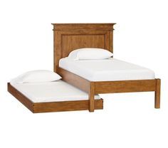 Sommerset Bed with trundle.  Pottery Barn Kids.