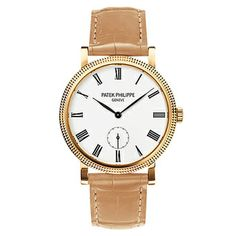 Patek Philippe Ladies' Calatrava Manual Yellow Gold (7119J)