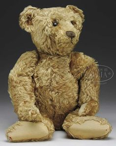 Early honey colored Steiff bear