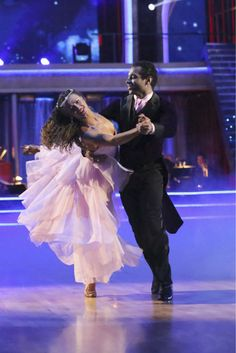 "Week 5   Corbin Bleu and Karina Smirnoff dance Foxtrot to the song: ""My Wish"" by Rascal Flatts Judges' Scores: 9+9+10 = 28"