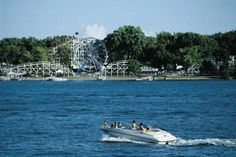 Lake Okoboji. It's my heaven on earth. Its like a place in a movie. Arnold's park (in the background) is fun too.