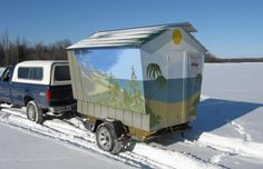 ice fishing shelters tropical