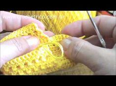 Casaquinho em crochê para Bebê (Mais Bebê)Parte-1 - YouTube