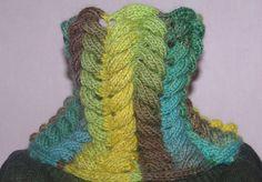 défi torsade terminé - Easy Crochet réalisé par Muriel Ruel