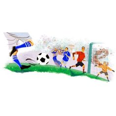 The 2010 FIFA World Cup Google doodle