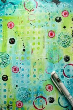 Somerset Place: The Official Blog of Stampington & Company » Blog Archive The Meaning of Life: A Mixed-Media Art Journal Page by Guest Artist Kate Crane » Somerset Place: The Official Blog of Stampington & Company