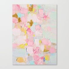 Cotton Candy Dreams Canvas Print by Ann Marie Coolick - $85.00