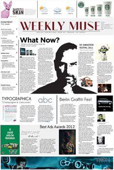 newspaper design inspiration - Recherche Google