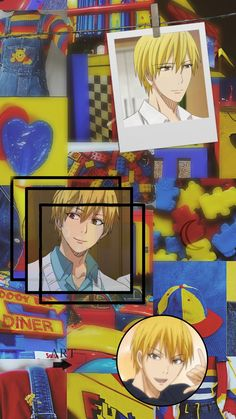 Kise Ryouta, Kuroko's Basketball, Kuroko No Basket, I Wallpaper, Aesthetic Wallpapers, Aesthetics, Tags, Anime, Collage