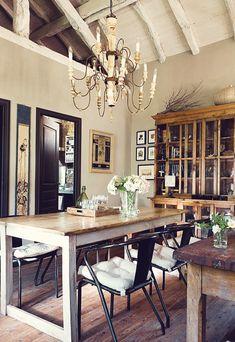 dustjacket attic: Interior Design   Spanish Stone House