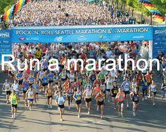 Bucket List.. run a marathon. My cousin thinks I should do this when I turn 18