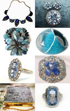 Blue Skies by ElizaBella Designs on Etsy--Pinned with TreasuryPin.com