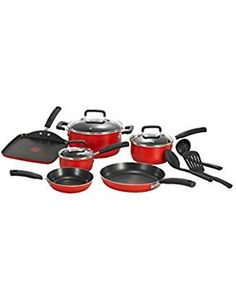 T fal C112SC75 Signature Nonstick Aluminum. -- Visit the image link more details. (This is an affiliate link) #CookwareSets