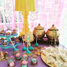 Princess Jazmin Birthday Party Ideas | Photo 10 of 16