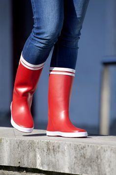 Catiuscas de caucho natural, cómodas y preciosas. Batela es calidad.