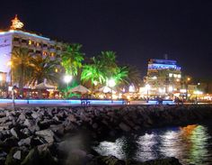 Kusadasi at night (own photo)