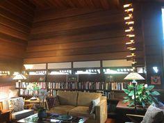 Originally designed in 1938 Frank Lloyd Wright. Prairie Style Houses, Usonian, Clerestory Windows, Radiant Floor, Passive Solar, Frank Lloyd Wright, Flat Roof, Ann Arbor, Interior And Exterior