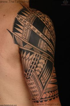 tattoos inspired by paintings | Pin Polynesian Tribal Honu Family Art Tattoo on Pinterest
