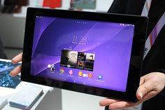 Sony Xperia Tablet Z2, la tableta resistente al agua más delgada y ligera del mundo (¡en vídeo!)