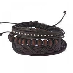 MJARTORIA Multilayer Leather Bracelets For Women Wood Bead Bracelet Men Casual Fashion Braided Punk Rock Unisex Jewelry Wood 4 Good http://www.wood4goodaccessories.com/product/mjartoria-multilayer-leather-bracelets-for-women-wood-bead-bracelet-men-casual-fashion-braided-punk-rock-unisex-jewelry/ Price: & FREE Shipping #homedecor