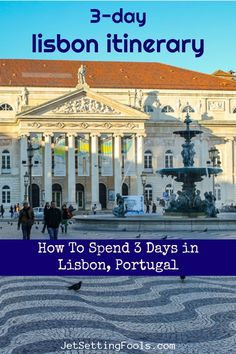 Filled with historic sights and scenic landscapes, spending 3 days in Lisbon is an ideal amount of time to get acquainted with the city – and we feature the highlights in our Lisbon itinerary.