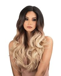 Synthetic Lace Front wigs are a perfect way to achieve the natural look of a lace wig on a budget. Lace Wig Glue, Lace Wigs, Synthetic Lace Front Wigs, Synthetic Hair, Brown To Blonde Ombre, Urban Beauty, Quality Wigs, Ombre Wigs, Natural Hair Styles