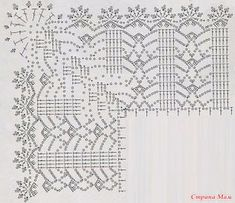How To Crochet Edging On Fabric Baby Blankets Best Ideas Crochet Dollies, Crochet Lace Edging, Crochet Borders, Crochet Diagram, Crochet Chart, Filet Crochet, Plaid Crochet, Crochet Gratis, Crochet Bedspread