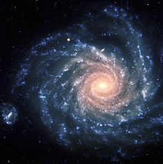 Large spiral galaxy NGC 1232 is located 20º south of the celestial equator, in the constellation Eridanus (The River). The distance is about 100 million light-years and the edge of the field shown corresponds to about 200,000 light-years, or about twice the size of the Milky Way galaxy. The colours of the different regions are well visible: the central areas contain older stars of reddish colour, while the spiral arms are populated by young, blue stars and many star-forming regions.