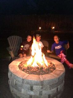 Hy Kids Around A Warming Trends Fire Pit Hearth And Home Outdoor