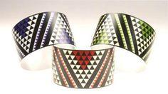 The Paua Room - Taniko Design Aluminium Cuff, $36.00 (http://www.thepauaroom.com/taniko-design-aluminium-cuff/)