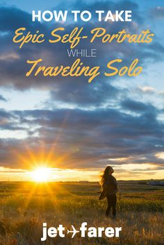 When traveling solo, it can be really hard to get good self-portraits. Trust me, I know! In this post, I share my secrets on how to take beautiful photographs of yourself when you're traveling alone.