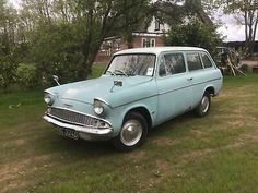 Ford Anglia, Classic Cars British, Classic Car Sales, Art Challenge, Station Wagon, Vroom Vroom, Old Cars, Cars For Sale, Childhood Memories