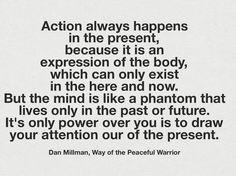 Vive el momento presente. #mindfulness #connectwithyourmisma #concienciapresente