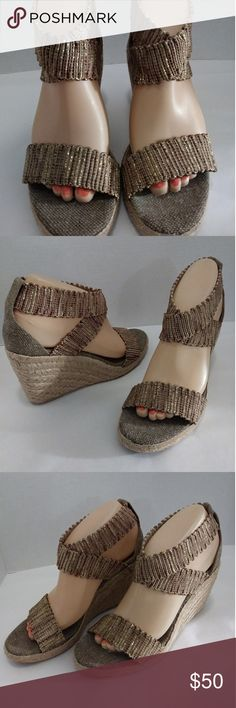 "Jean-michel cazabat wedge heels Worn once in good clean condition with 3.5"" heels jean michel cazabat Shoes Wedges"