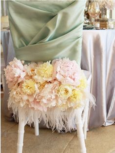Party Chair Covers & Decor