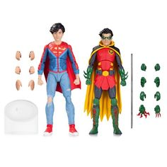 DC Icons Robin and Superboy Action Figure 2-Pack - DC Collectibles - DC Comics - Action Figures at Entertainment Earth