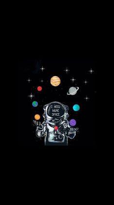 44 ideas wallpaper fofos preto galaxia for 2019 Wallpaper Space, Tumblr Wallpaper, Dark Wallpaper, Screen Wallpaper, Galaxy Wallpaper, Cartoon Wallpaper, Mobile Wallpaper, Wallpaper Quotes, Wallpaper Backgrounds