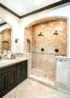 Tan bathroom paint ideas brown bathroom paint gold paint color with white and tile bathroom tan . Tan Bathroom, Travertine Bathroom, Travertine Floors, Bathroom Floor Tiles, Bathroom Colors, Bathroom Ideas, Bath Ideas, Tile Floor, Room Tiles