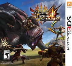 Monster Hunter 4 Ultimate Standard (Nintendo 3DS) $14.69 via Amazon