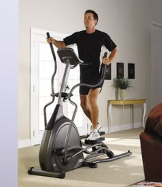 Find out the benefits of using an elliptical trainer for home exercise