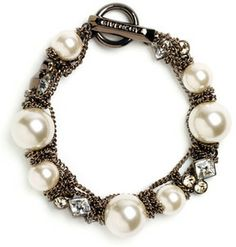 Givenchy Small Faux Pearl Bracelet on shopstyle.com