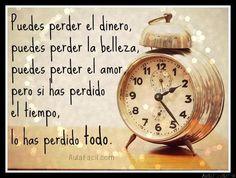 perder el tiempo