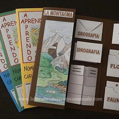 "APRENDO-APPRENDO: Lapbook ""Gli Ambienti"" 