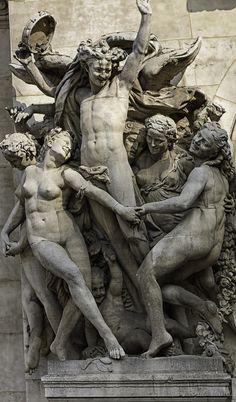 Terpsichore by Carpeaux, Palais Garnier, #Paris Opera — #France #Sculpture