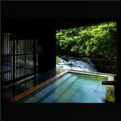 Higashiyama hot spring, Fukushima, Japan