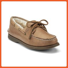 Sperry Women's A/O 2 Eye, Sahara (Shearling)-10 - Athletic shoes for women (*Amazon Partner-Link)