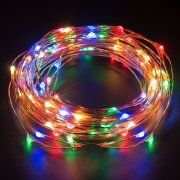 Kohree USB 100 LED Fairy Starry String Lights, Decorative Rope Lights 33ft Copper Wire for Bedroom Garden Party Wedding
