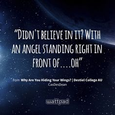 "I'm reading ""Why Are You Hiding Your Wings? 