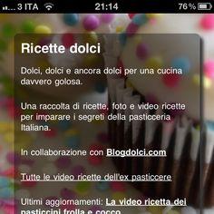 Ricette dolci app
