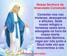 """Acesse: """"Oração a Nossa Senhora da Imaculada Conceição"""" (outra)   #Oracao"""